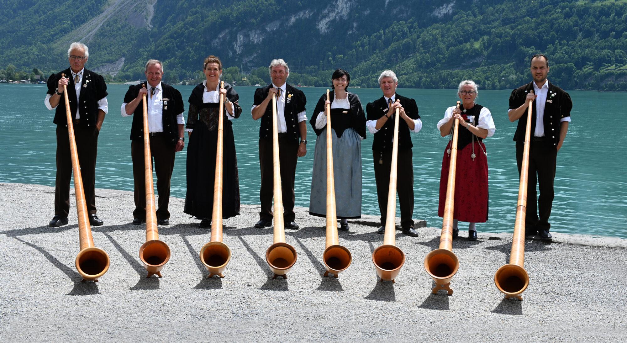 Alphorngruppe Gstaad